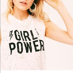 Tops - Girl Power Tank Top